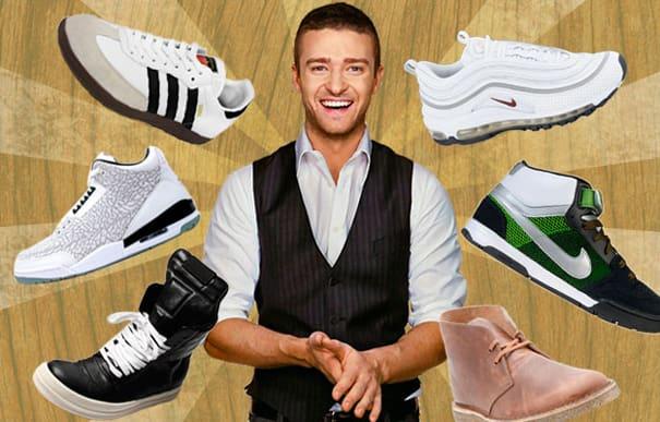 Justin Timberlake ayakkabı tasarladı