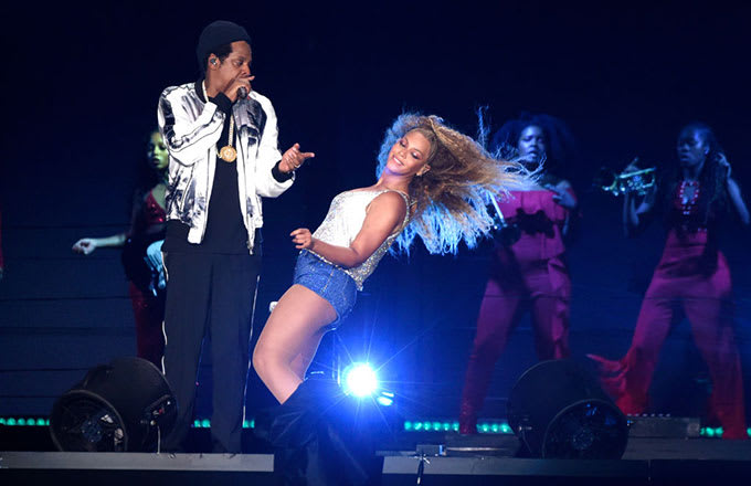 Beyonce'den rap performans