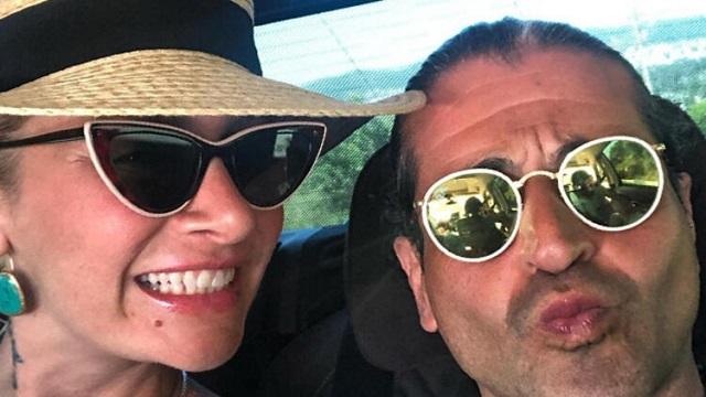 Hazer Amani ve Sıla tatilde! 'Biraz da eğlenelim'