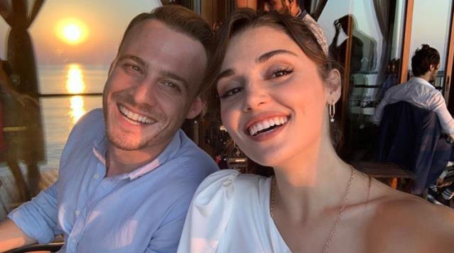 Kerem Bürsin'den ayrı kalamayan Hande Erçel'in daveti hayranlarını heyecanlandırdı