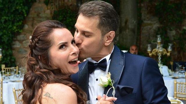 Oyuncu Sevinç Erbulak ve Volkan Cengen evlendi