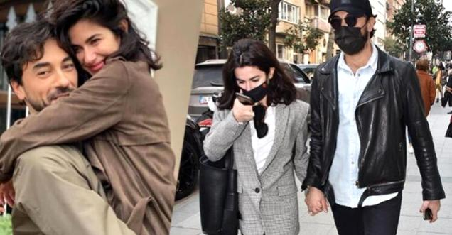 Gökhan Alkan 'Alın yazım' dediği Nesrin Cavadzade'ye önceki gün Datça'da evlilik teklifi etti.